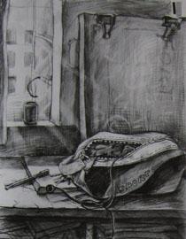 2009年江南大�W素描��秀�卷2