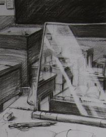 2009年江南大�W素描��秀�卷3