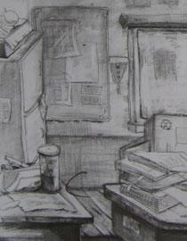 2009年江南大�W素描��秀�卷7