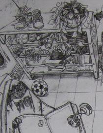 2009年江南大�W素描��秀�卷11