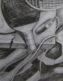 2009年江南大�W素描��秀�卷19