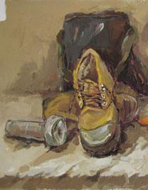 2009年鲁迅美术学院色彩优秀试卷3