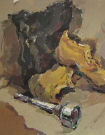 2009年鲁迅美术学院色彩优秀试卷4