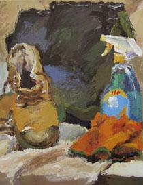2009年鲁迅美术学院色彩优秀试卷13