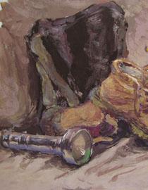 2009年鲁迅美术学院色彩优秀试卷16
