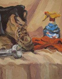 2009年鲁迅美术学院色彩优秀试卷17
