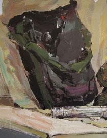 2009年鲁迅美术学院色彩优秀试卷18