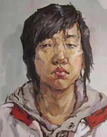 2009年鲁迅美术学院色彩优秀试卷23