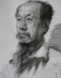 央美清�A�p�钤��S思思素描�^像��秀作品2