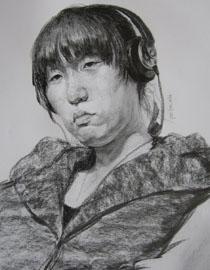 央美清�A�p�钤��S思思素描�^像��秀作品11