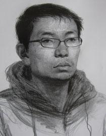 央美清�A�p�钤��S思思素描�^像��秀作品12