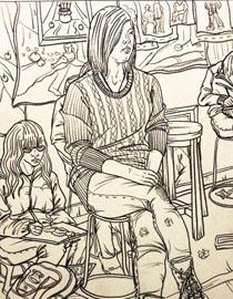 石家庄1215画室优秀作品集(9)
