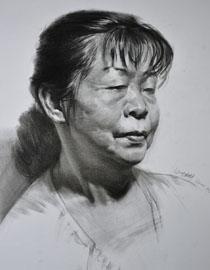 重庆巨明画室教师优秀素描作品(3)