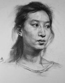 重庆巨明画室教师优秀素描作品(4)