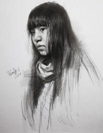 重庆巨明画室教师优秀素描作品(6)