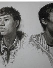 重庆巨明画室教师优秀素描作品(5)