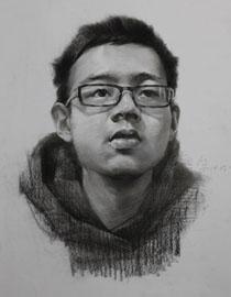 重庆巨明画室教师优秀素描作品(7)