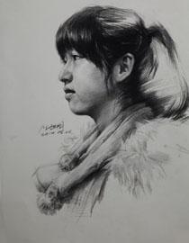 重庆巨明画室教师优秀素描作品(10)