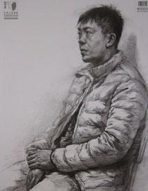 2016中国美术学院素描高分试卷61