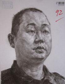 2016年四川美术学院造型素描高分试卷50