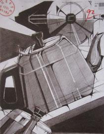 2016年四川美术学院设计素描高分试卷3