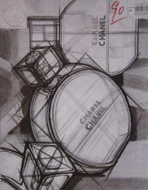 2016年四川美术学院设计素描高分试卷21