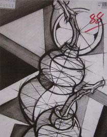 2016年四川美术学院设计素描高分试卷64