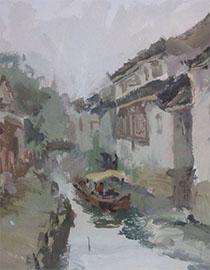 2017年中国美术学院色彩优秀试卷8