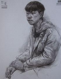 2017年中国美术学院素描优秀试卷9