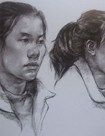 2017年中国美术学院素描优秀试卷80