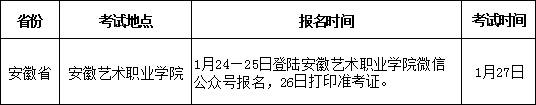 江西服装学院2019年安徽省艺术类招生简章